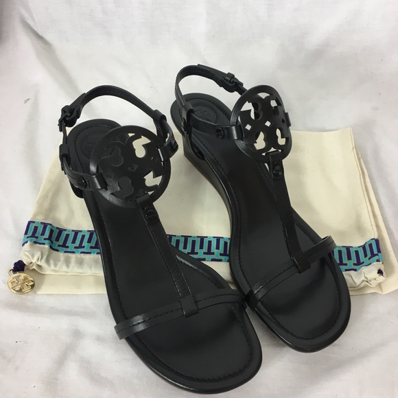 c6465838b57 Tory Burch Miller 60mm Wedge Sandal Size 9